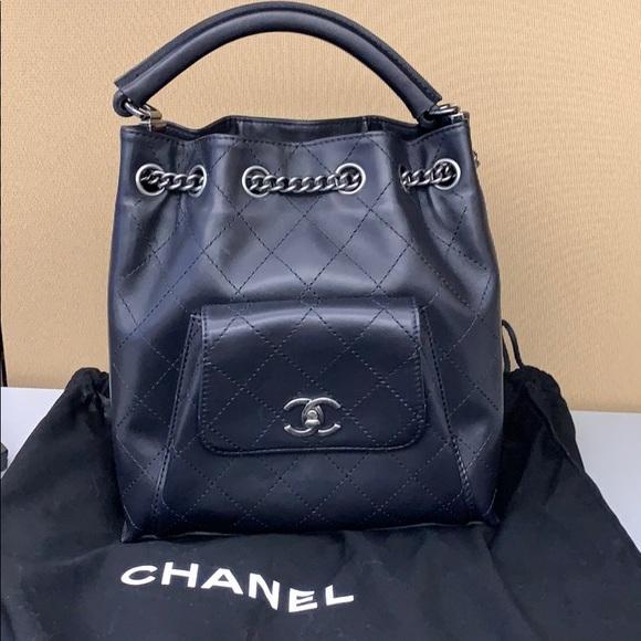 5306d83e51fa CHANEL Bags | Drawstring Backpack | Poshmark